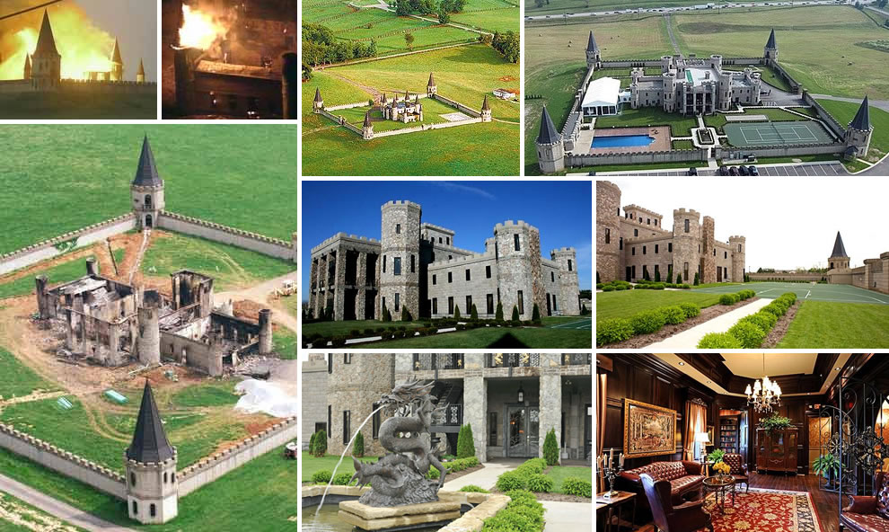 Kentucky Castle -- Martin Castle, also known as Post Castle and Versailles Castle