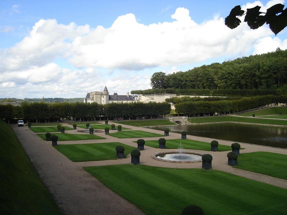 Renaissance Villandry water garden