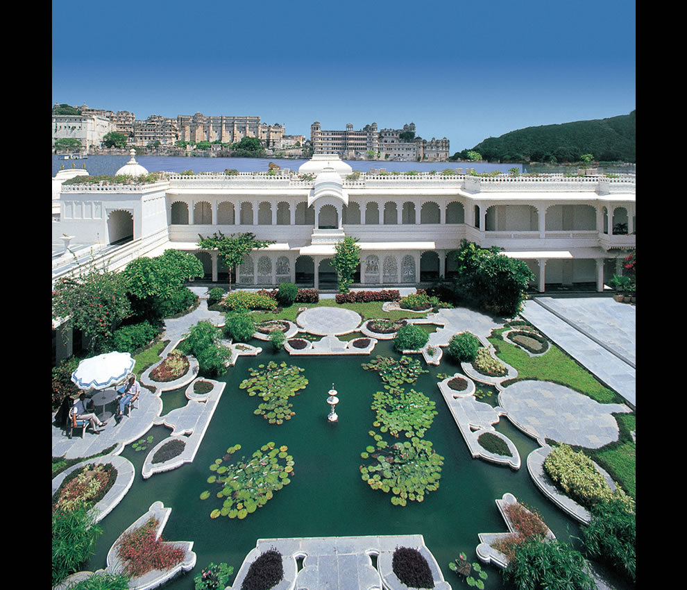 Taj Lake Palace begun as a prince's rebellious gesture but was turned into one of the most romantic hotels in the world