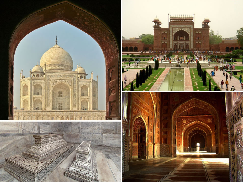 Taj Mahal built for love in life and death