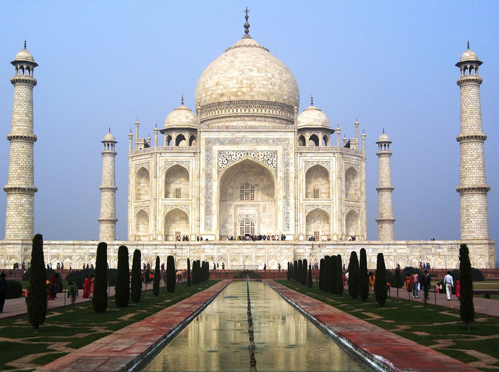 Taj Mahal from Agra Uttar Pradesh, INDIA