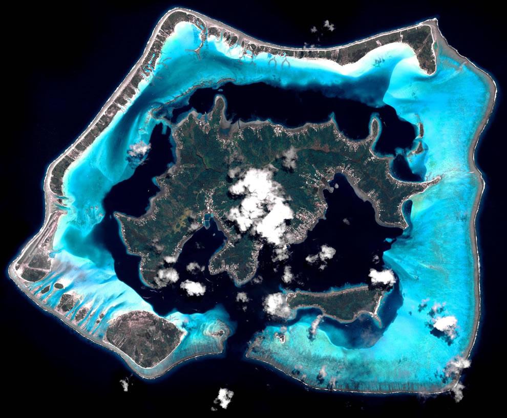 Beautiful Bora Bora Island, Polynesia