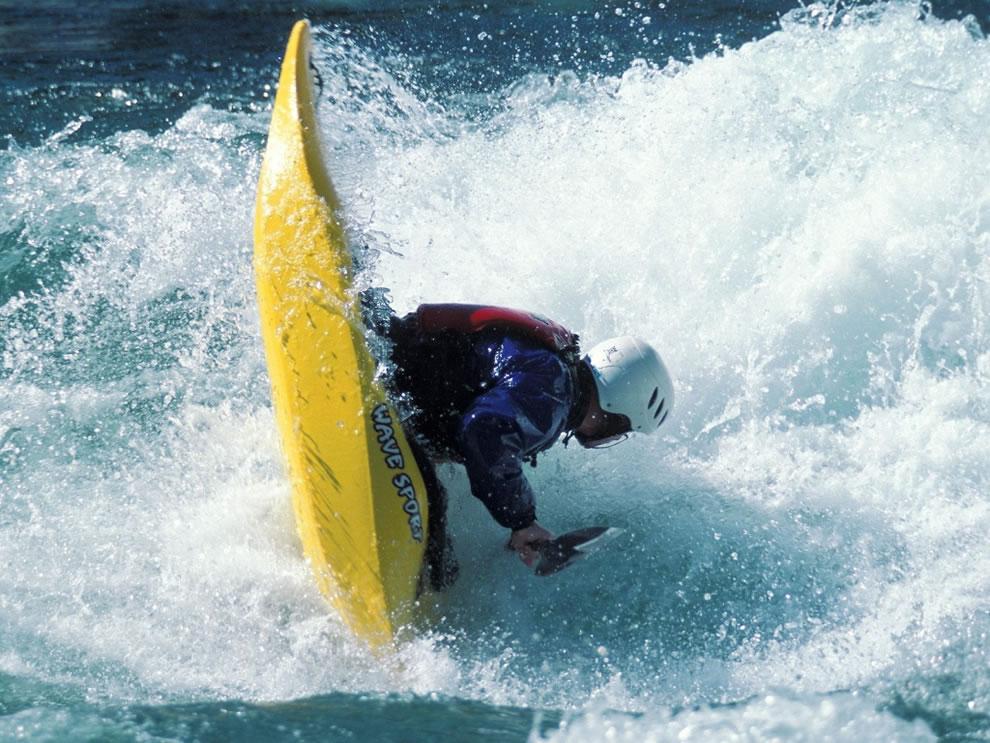 Bottoms Up Salmon River kayaking