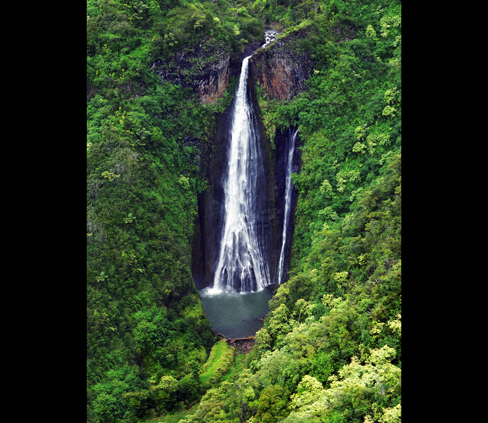 Mana Waipuna Waterfall