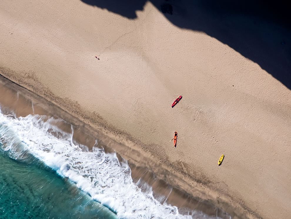Napali kayaks safe from the sea