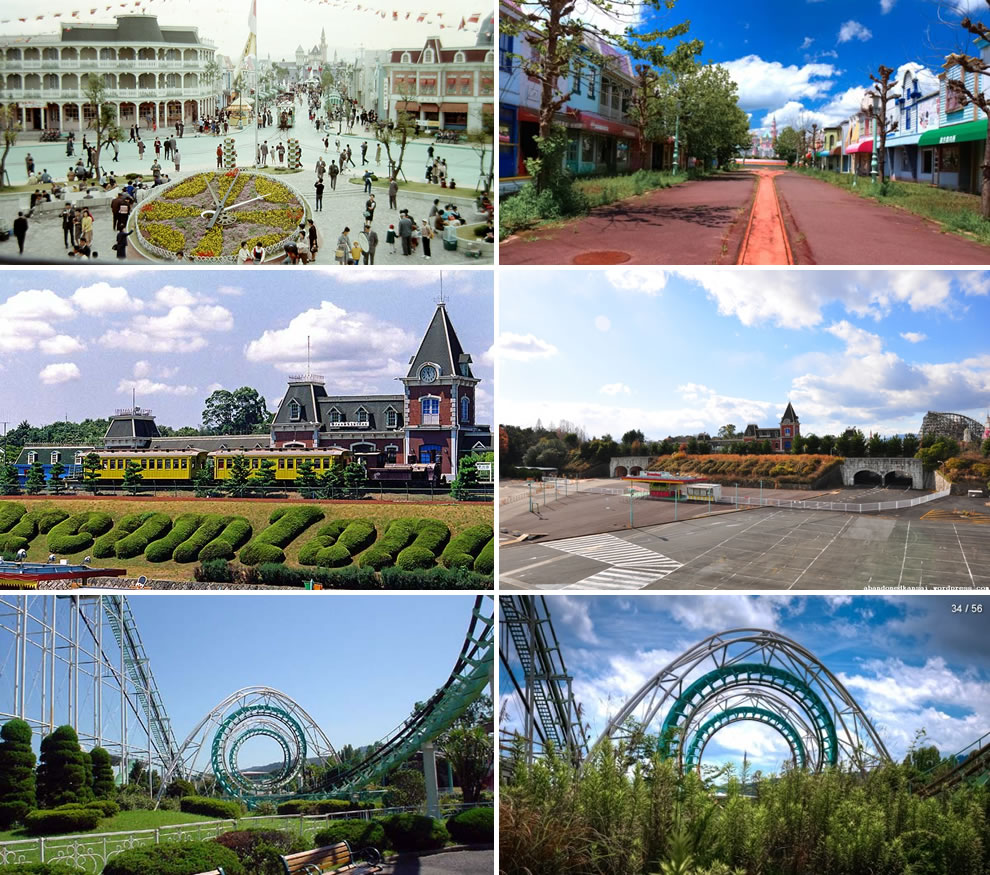 Nara Dreamland then Heyday and now Abandoned