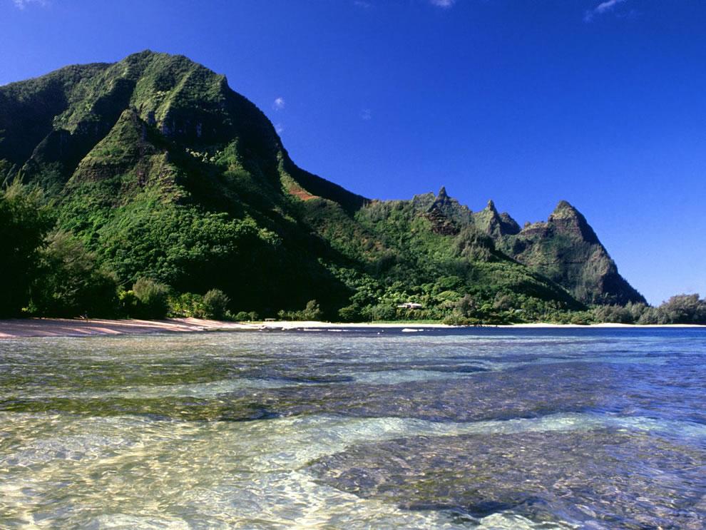 Seclusion Na Pali Coast Kauai Hawaii