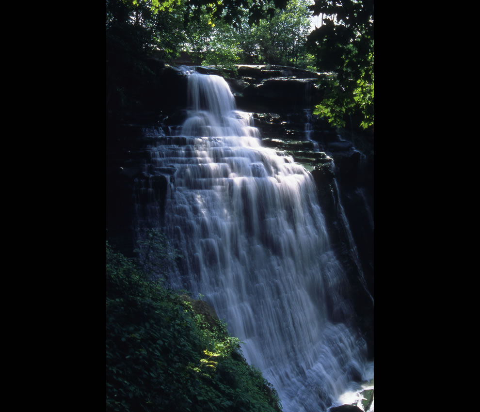 Brandywine Waterfall in summer