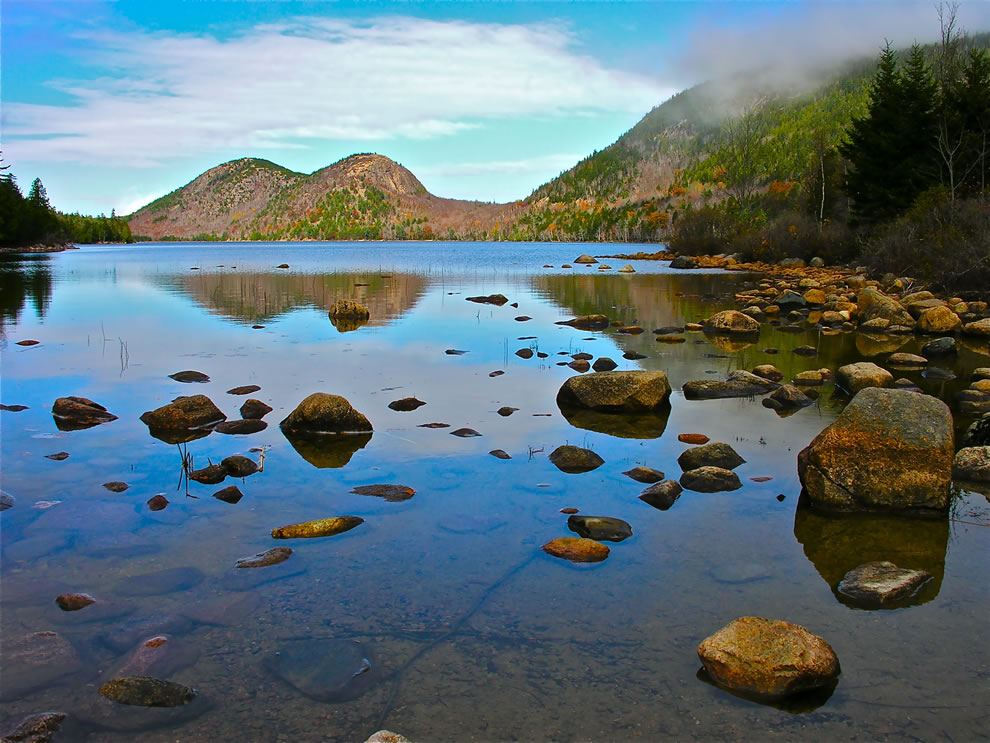 Bubble Pond at Acadia National Park, Maine