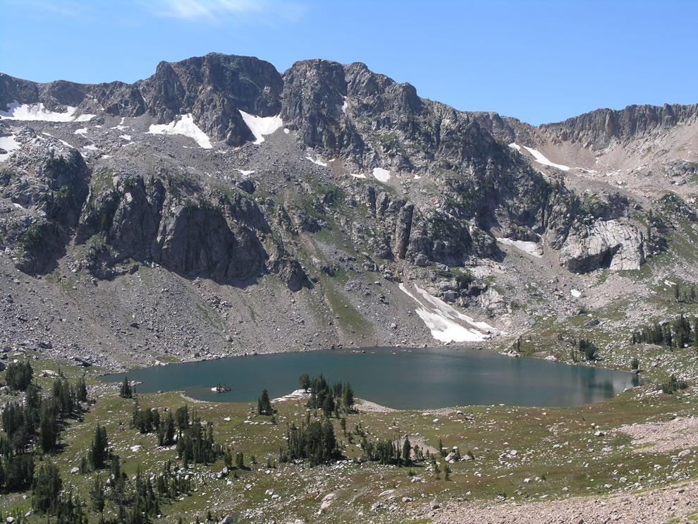 Lake Solitude at Grand Teton NP