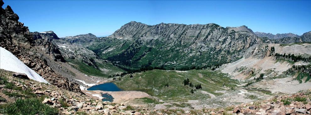 Panorama Grand Teton National Park