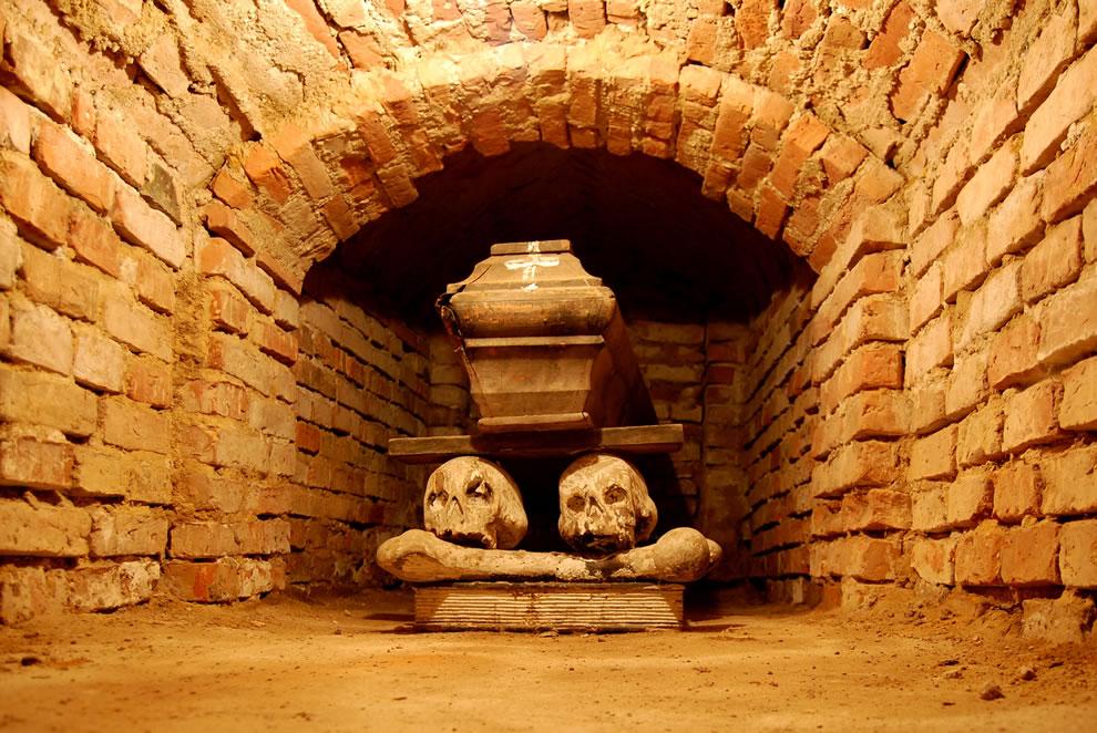 Crypt in Wola Gułowska Lublin Province Poland
