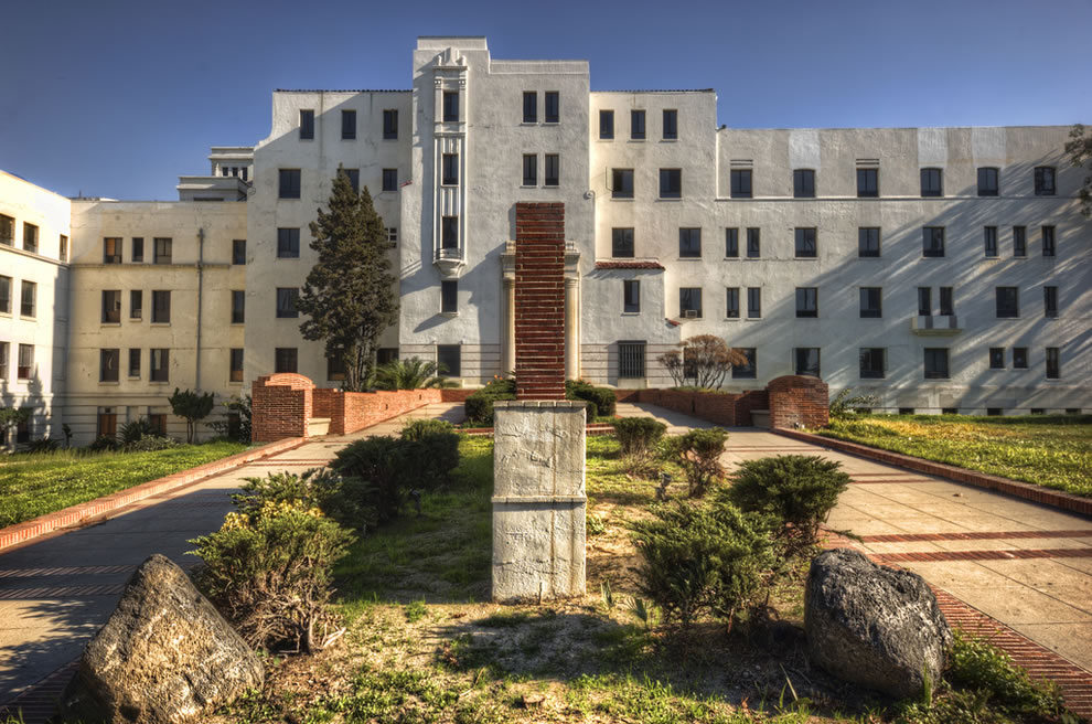 Railroad Hospital aka Linda Vista in LA, abandoned in 1991, reportedly haunted and soon to be converted into a senior citizens' home