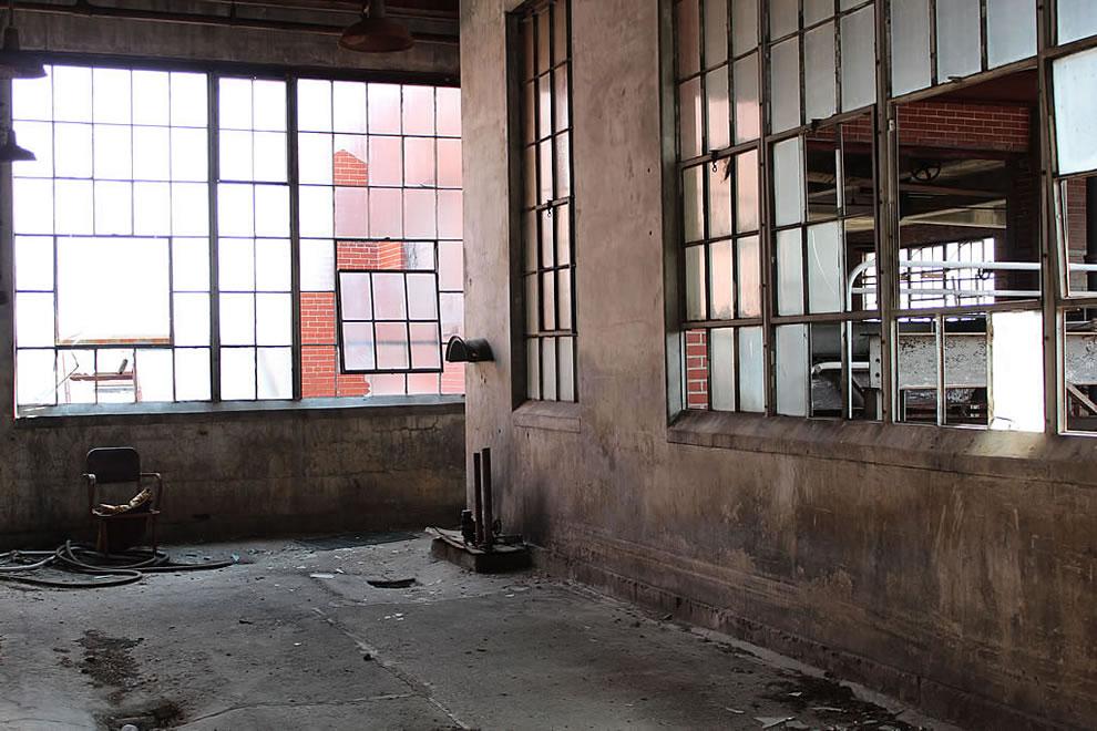 Emge Food Processing Plant abandoned 4th floor