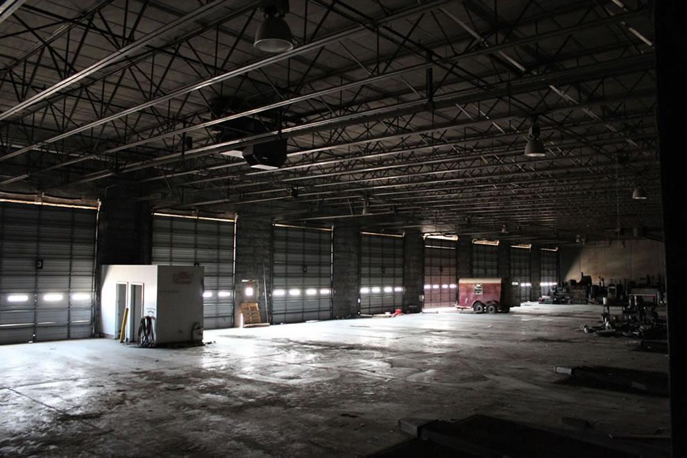 Emge warehouse docks