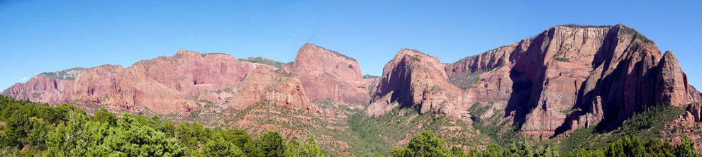 Kolob Canyons from end of Kolob Canyons Road - ZNP