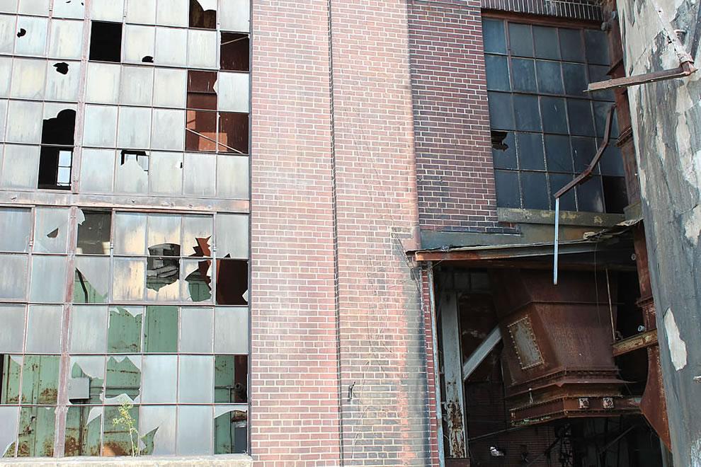 Outside of Emge Foods boiler room
