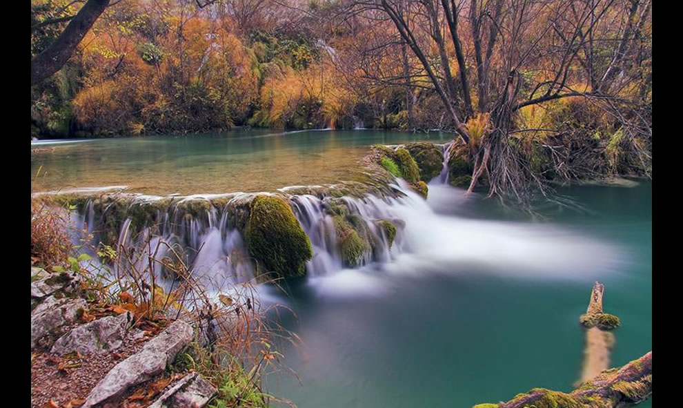 Plitvice Croatia Fall and falls
