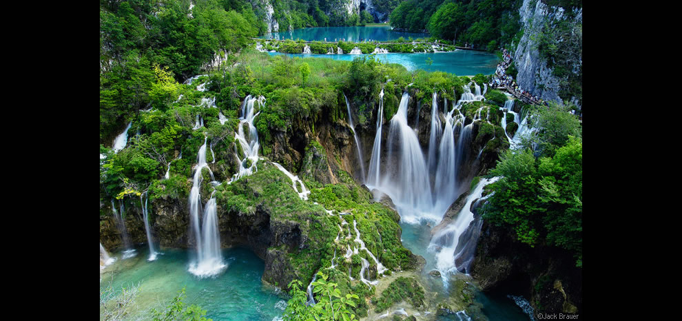 Plitvice Waterfalls at Plitvicka Jezera National Park