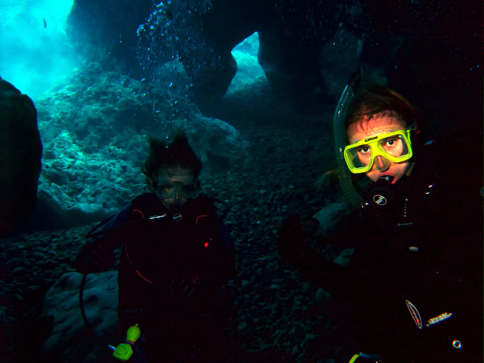 Scuba -- cave diving at Vortex Springs