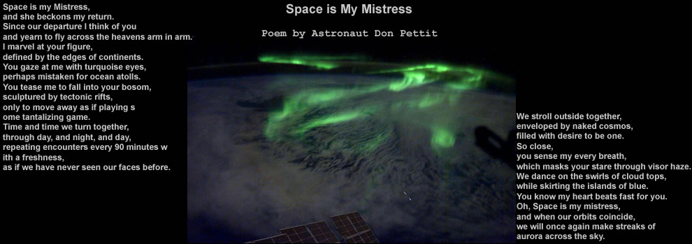 Space is my Mistress