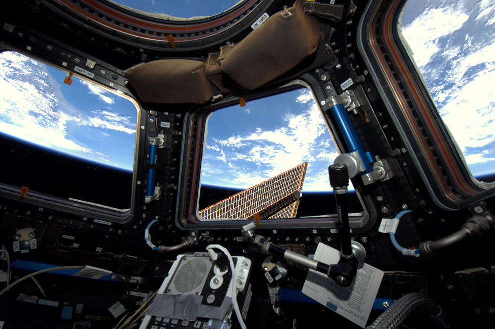 View of Earth from the ISS cupola