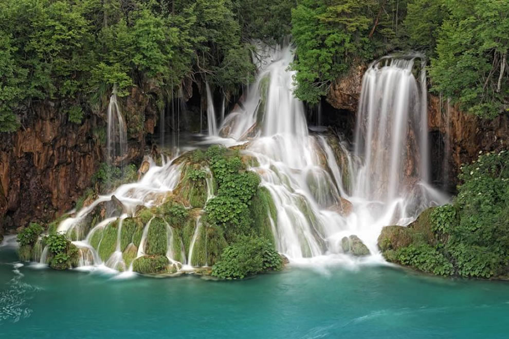 Waterfalls of Plitvice, Croatia