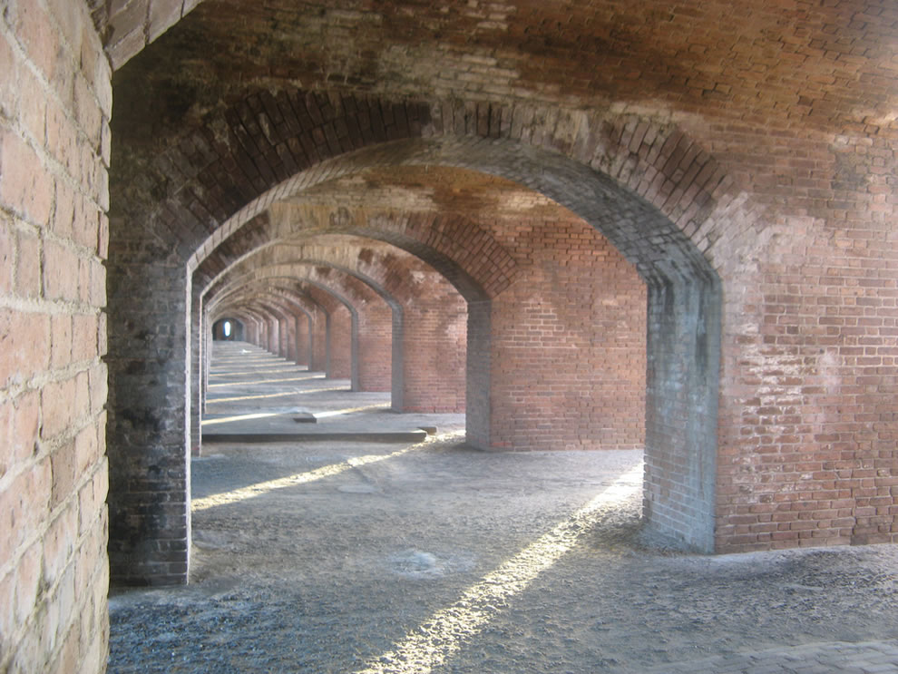 Abandoned Fort Jefferson, Dry Tortugas National Park