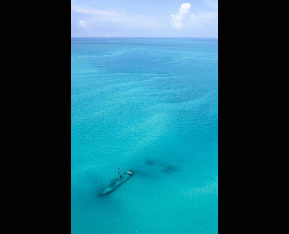 Arbutus, a shipwreck near the Dry Tortugas National Park - 70 miles west of Key West