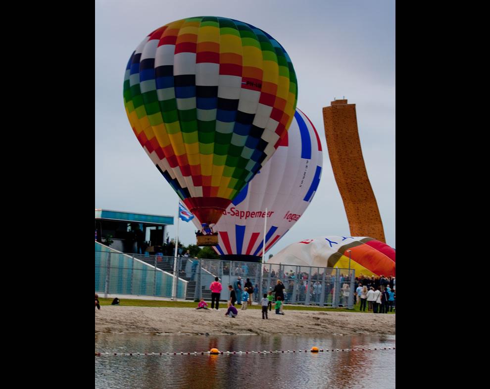 Balloon Festival at Kardinge, Groningen, Netherlands