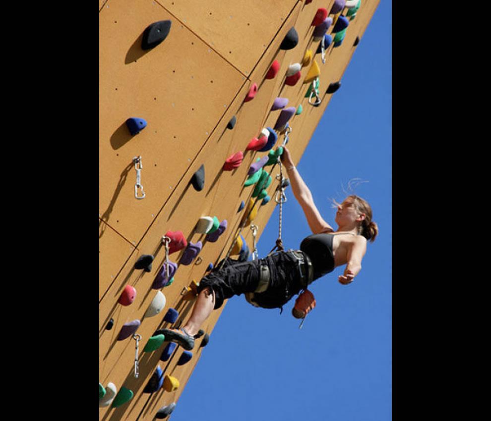 Climbing Excalibur Wall Netherlands