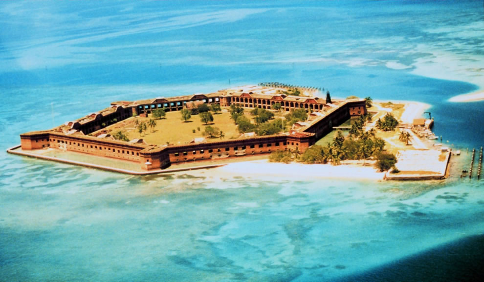 Dry Tortugas's historic Fort Jefferson