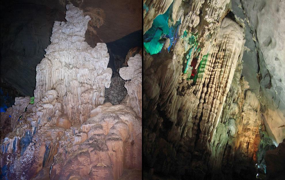 In Phong Nha Cave