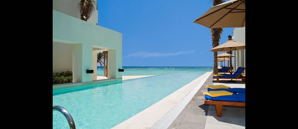 Infinity Pool at Be Live Grand Riviera Maya - luxury hotel in Mexico