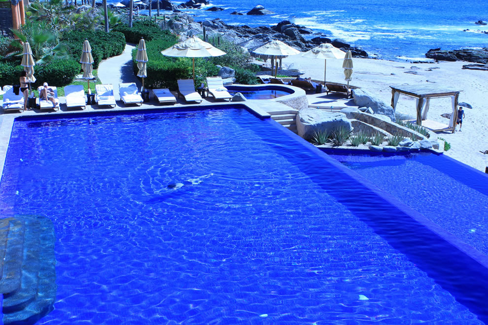Infinity Pool on the Hotel Side of Esperanza