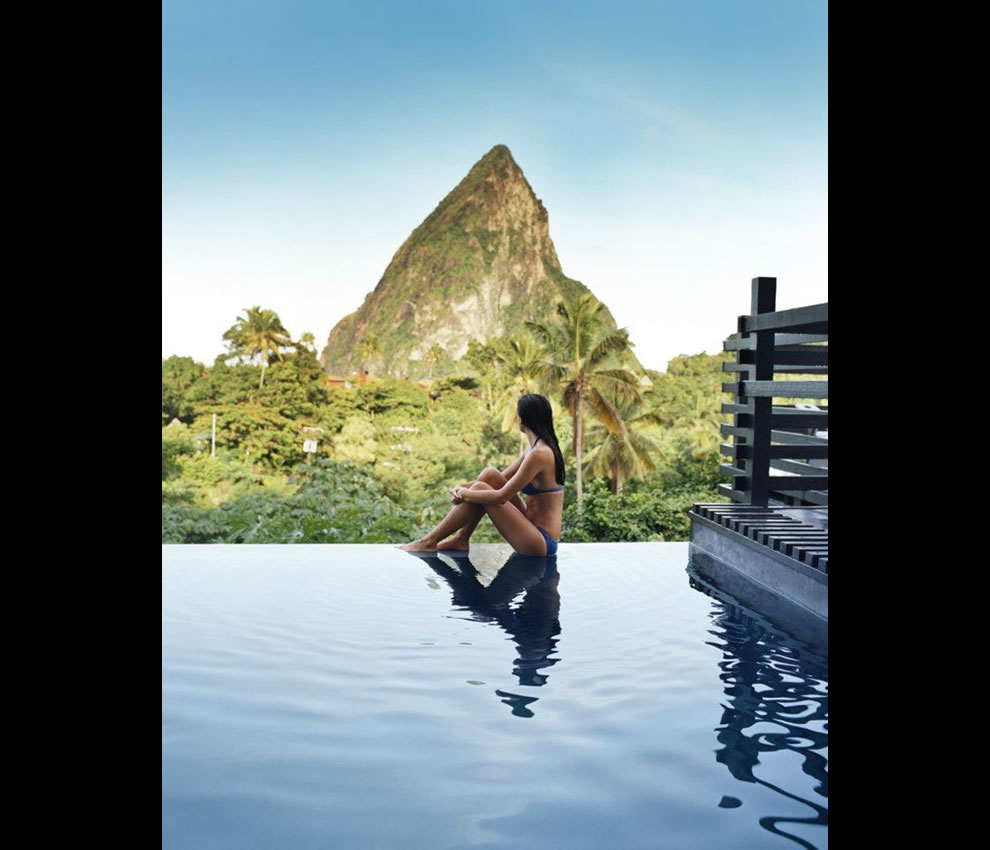Infinity at Hotel Chocolat in Saint Lucia