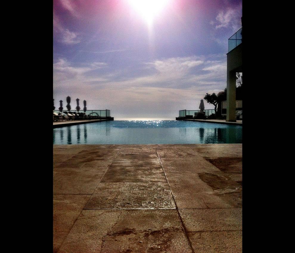 Infinity pool at Jumeirah Port Soller Mallorca