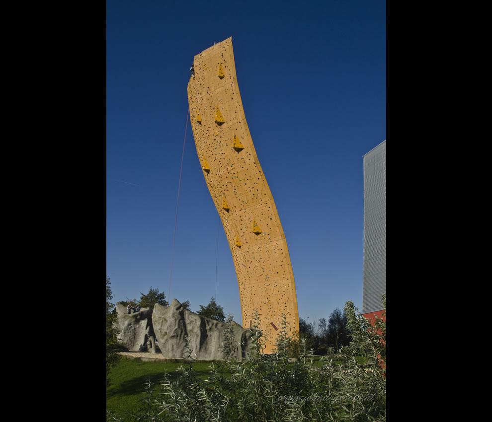 Klimcentrum Bjoeks climbing wall