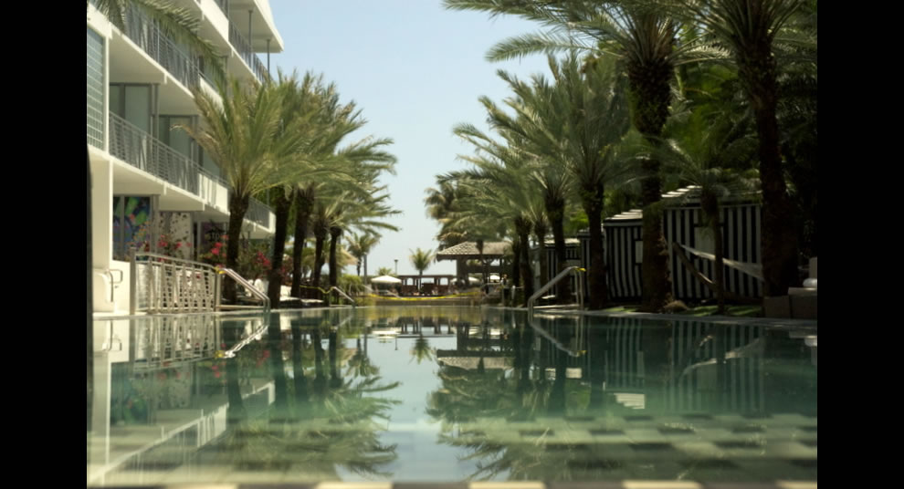 One-of-a-kind, 205-foot-long Infinity Pool Graceful Sophistication Of This South Beach Hotel in Miami