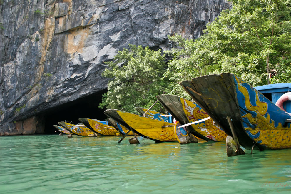 Outside the Phong Nha - Ke Bang Cave, Vietnam
