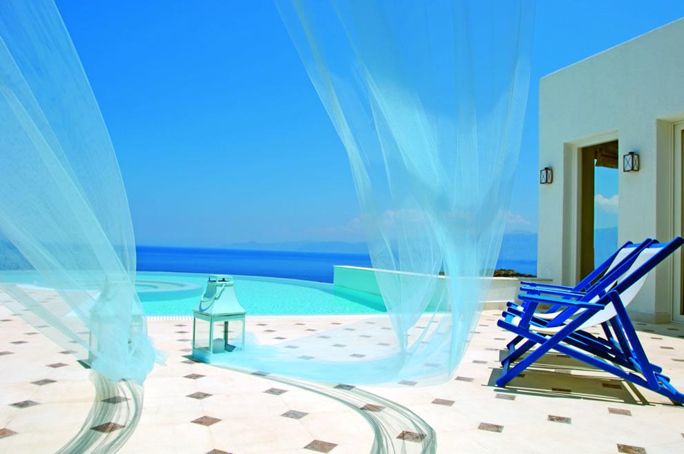 The Elounda Gulf Villas & Suites Greece infinity pool