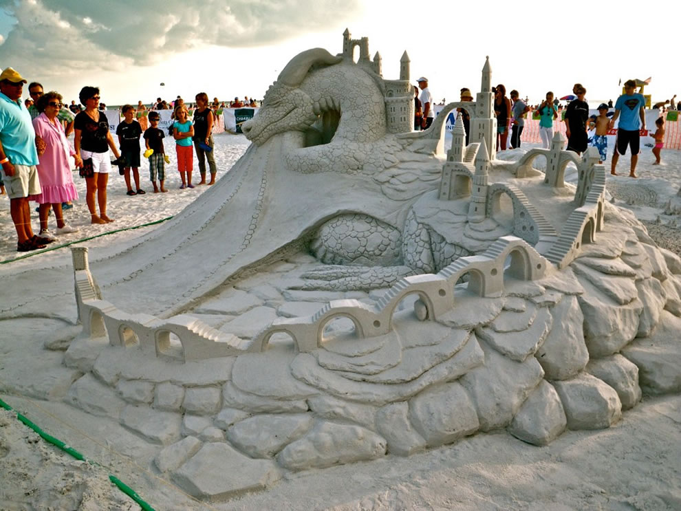 Sand dragon - The Dragon Sleeps a Thousand Years