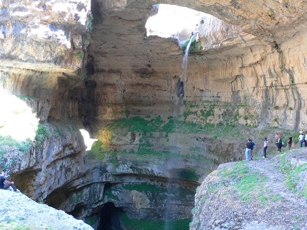 The Baatara Pothole, near Tannourine