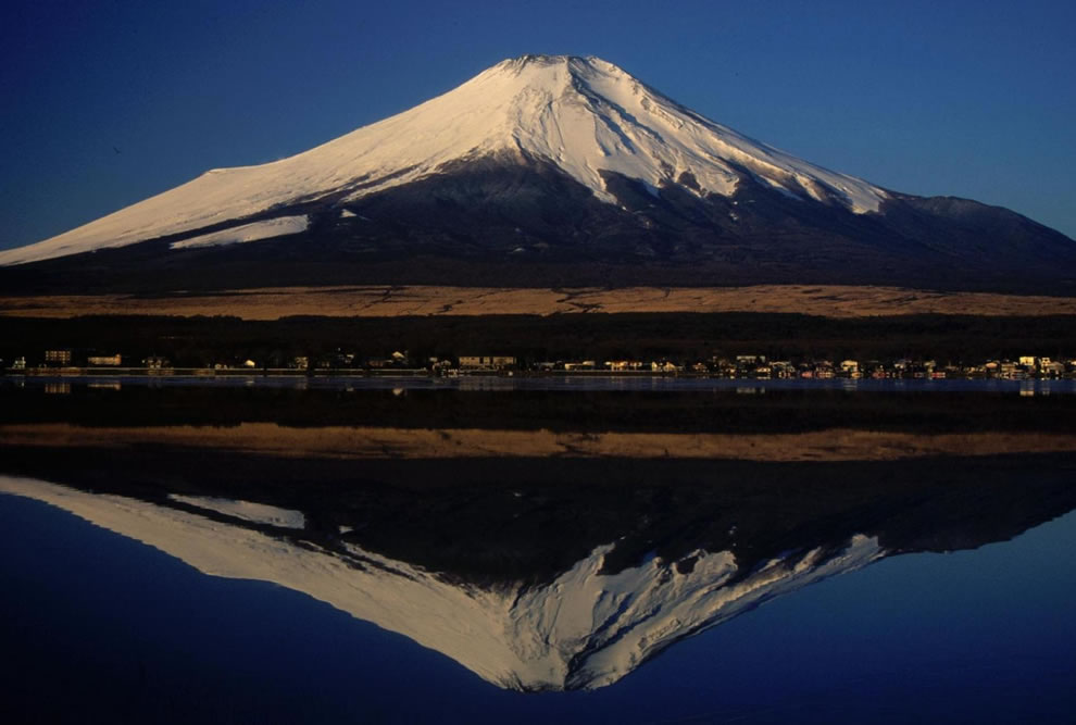 Mount Fuji from Lake Yamanaka