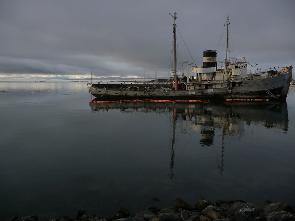 Patagonia -- Shipwreck in the Beagle Channel, Ushuaia, Argentina