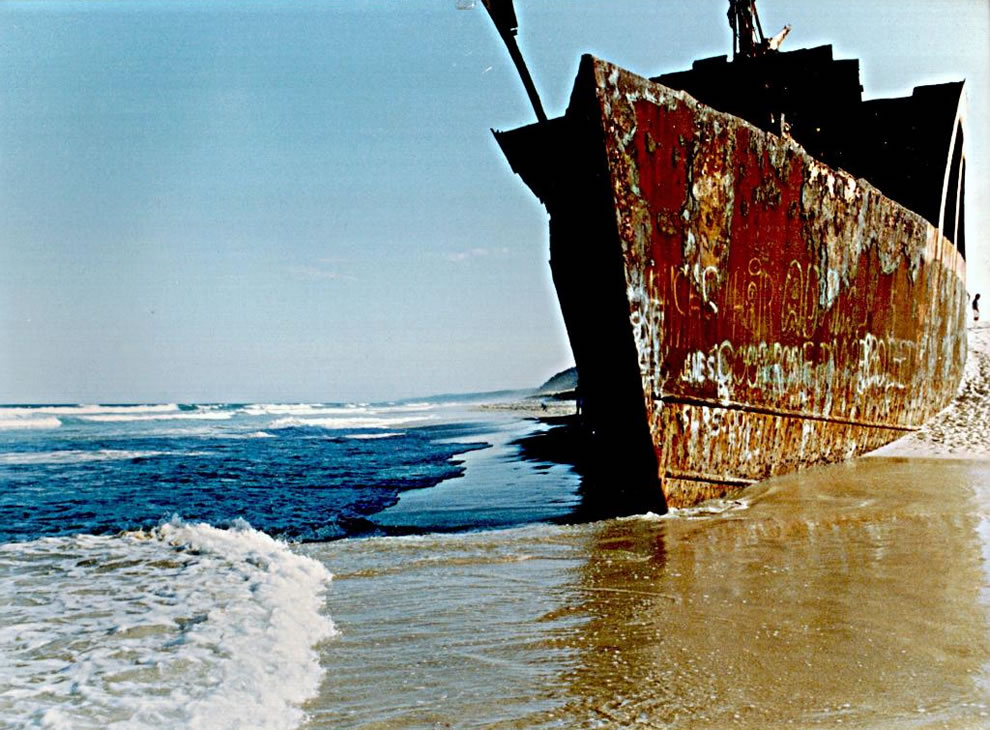 Queensland wreck of the Cherry Venture