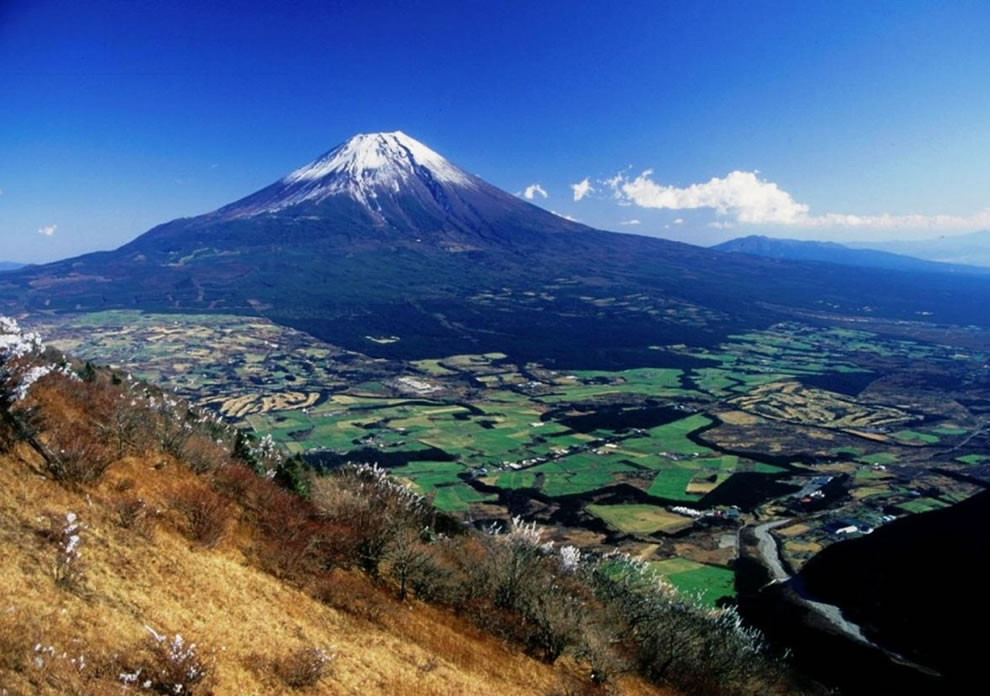 View of Mt Fuji from Mount Kenashi