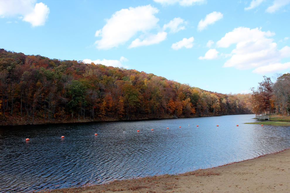 Beach and Lake at Pounds Hollow