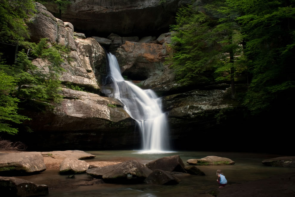Cedar Falls at Hocking Hills State Park