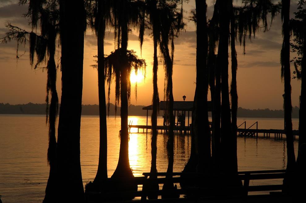 Sunrise at White Lake, North Carolina